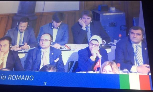 Andorra participa en una trobada parlamentària que se celebra a la Haia