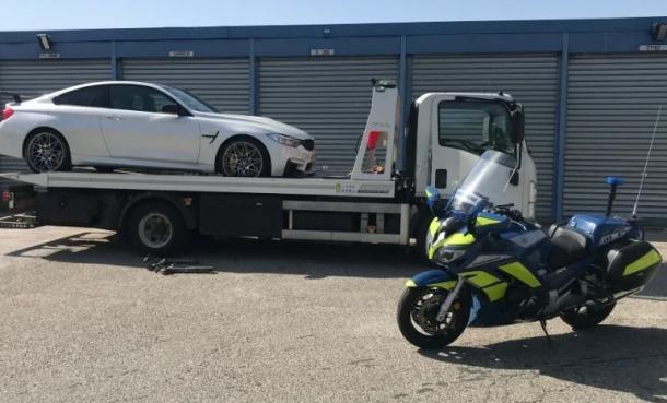 El vehicle va ser requisat a petició del fiscal.