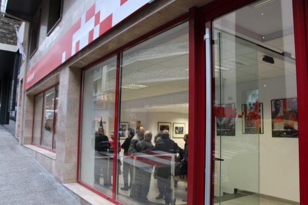 El local de la Creu Roja.