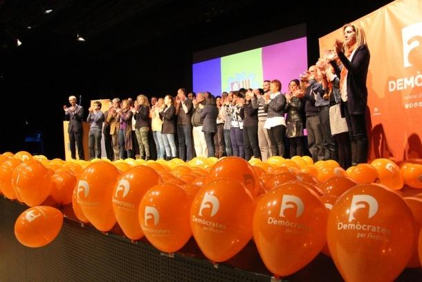 ANA/ Un acte de campanya de DA amb motiu de les passades eleccions generals.