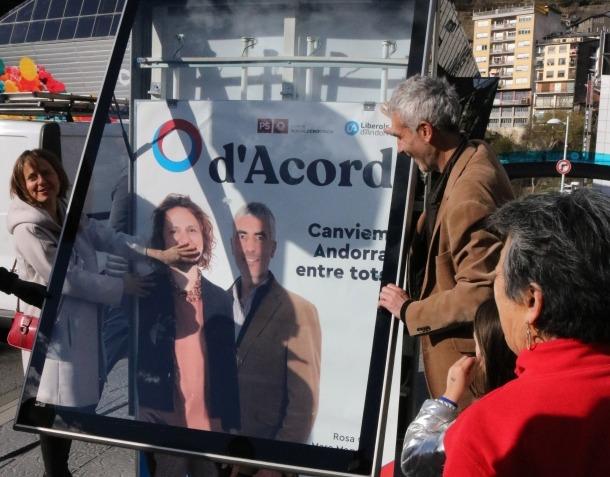 L'exconsellera Rosa Gili és la cap de llista d'Acord a Escaldes-Engordany.