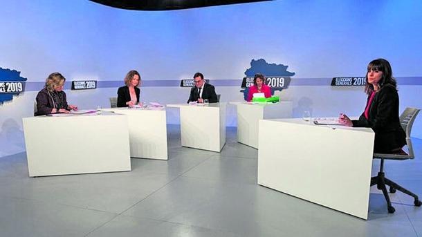 El debat televisiu entre els candidats d'Escaldes-Engordany a les properes eleccions.
