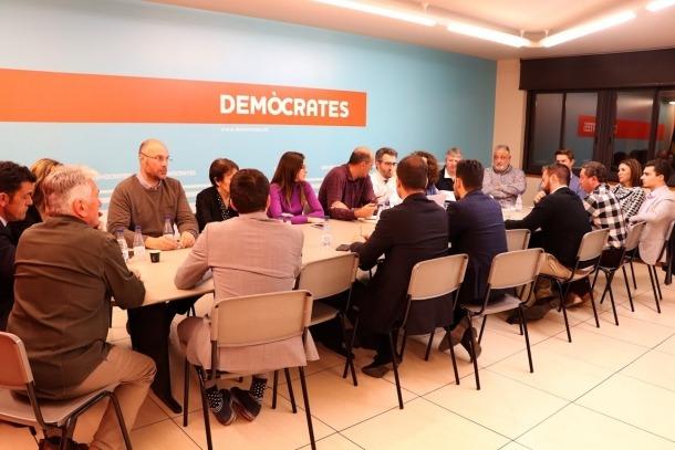 El comitè executiu de Demòcrates s'ha reunit avui per primera vegada aquest any.