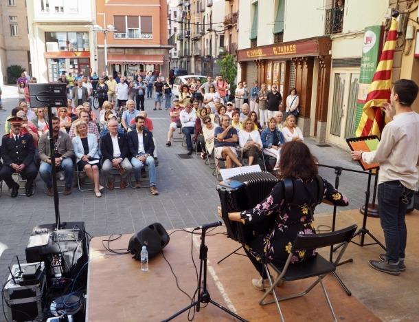 L'acte organitzat a la Seu d'Urgell amb motiu de la Diada Nacional de Catalunya.