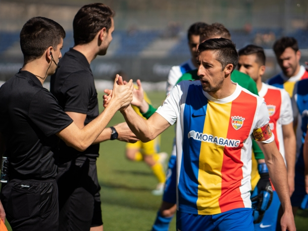 Fede Bessone després d'una temporada i mitja a l'FC Andorra penja les botes.