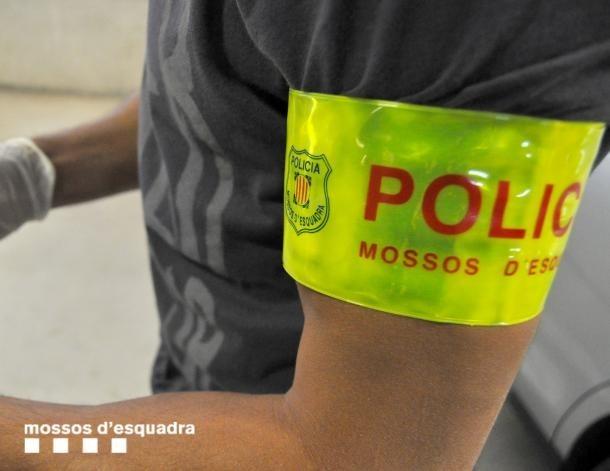 Els mossos han fet la detenció aquesta matinada.