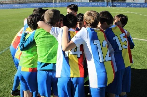 La base de l'FC Andorra busca jugadors.