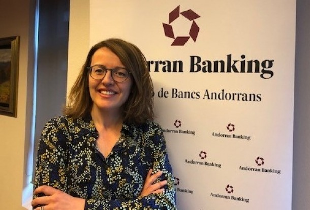 La directora general d'Andorran Banking, Esther Puigcercós.