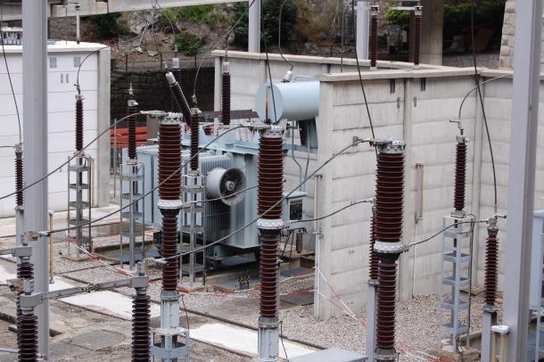 Instal·lacions de la central de FEDA.