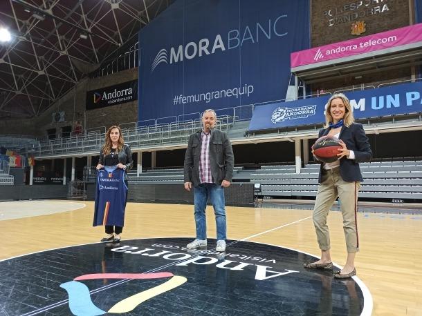 MoraBanc cedeix els seus espais publicitaris a les finals ACB per promocionar Andorra