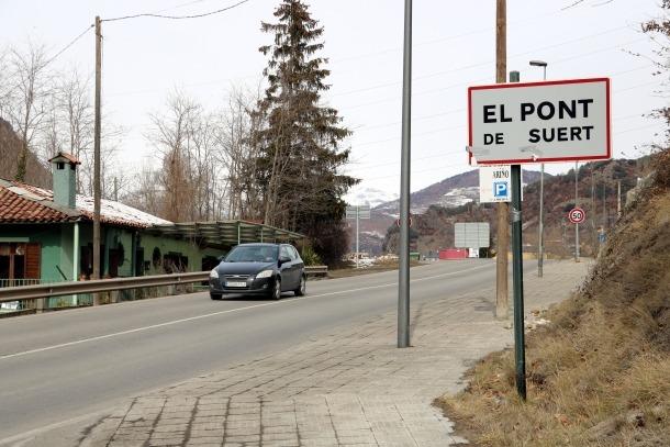 L'accident ha tingut lloc a l'N-230 a Pont de Suert.