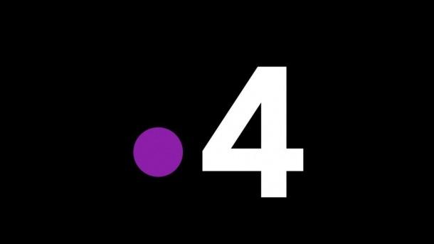 Logotip de la cadena France 4, especialitzada en continguts educatius.