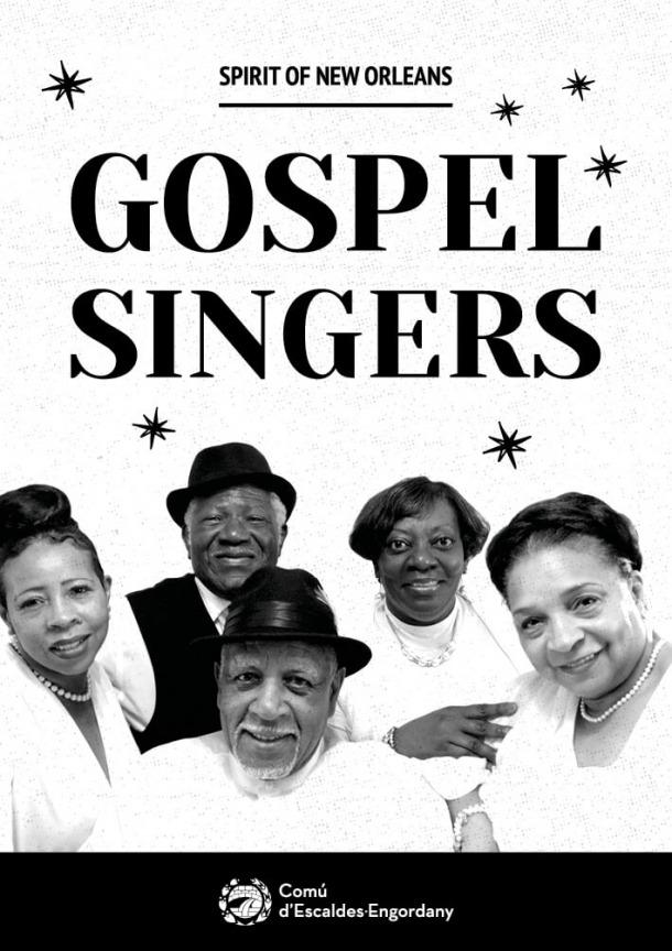A la venda les entrades per al concert de Gospel Singers A la venda les entrades per al concert de Gospel Singers