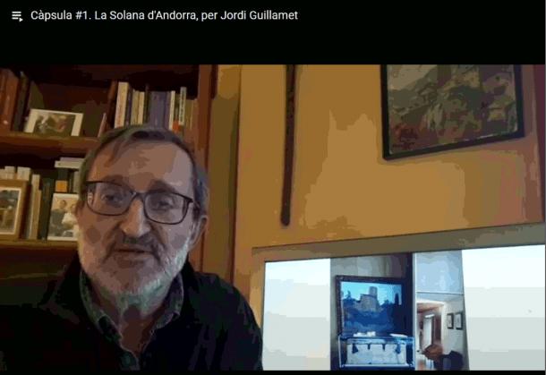 La primera càpsula amb Jordi Guillamet.
