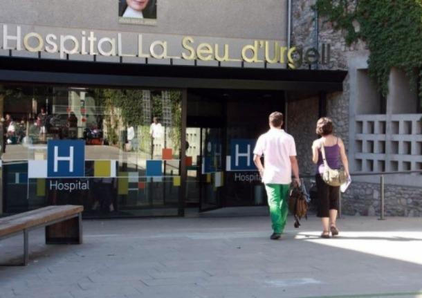 Imatge d'arxiu del centre hospitalari alturgellenc.
