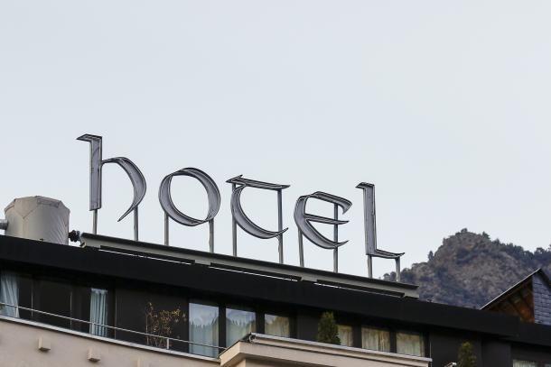 Un hotel.