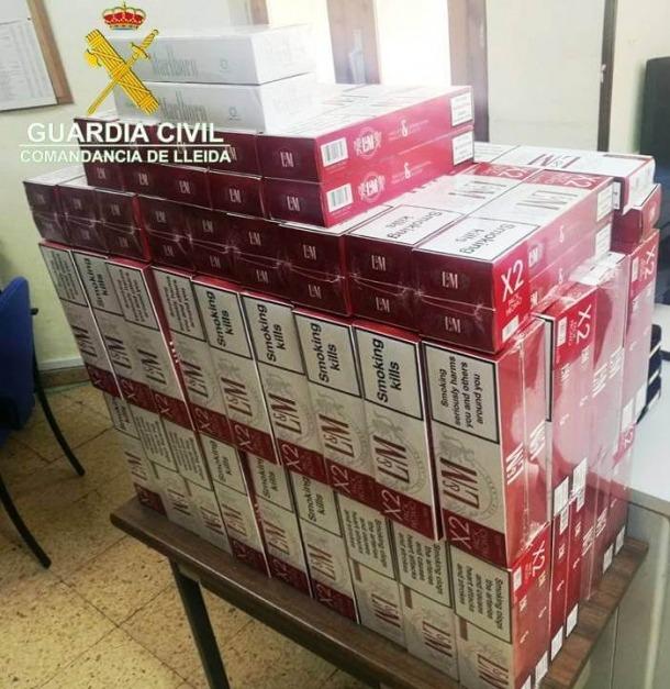 Comissen tabac valorat en prop de 8.000 € a dos veïns de la Seu
