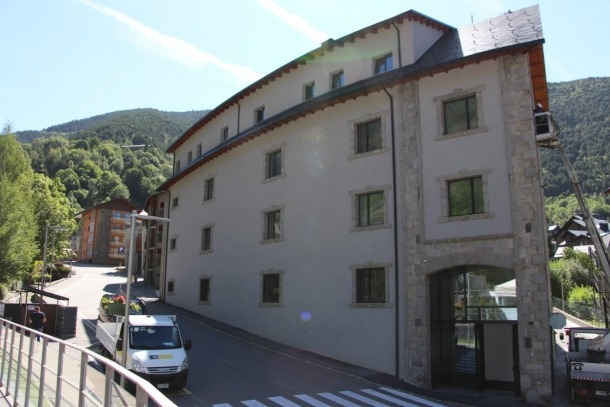 Imatge de L'Estudi, que allotja serveis com les escoles artístiques