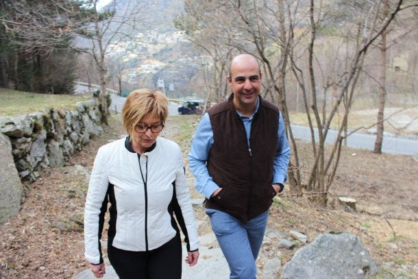 Palmitjavila i Montané van presentar la proposta econòmica al Pont de la Plana.