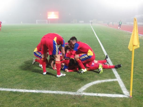La selecció d'Andorra dona per acabada una ratxa de 12 anys i 132 dies sense guanyar