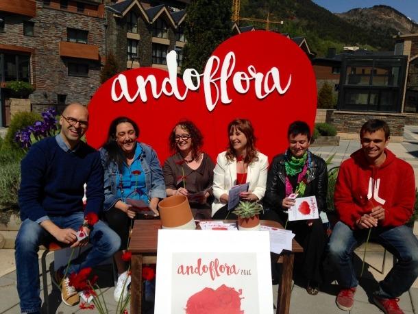 La 23a edició d'Andoflora potencia els artistes del país i els concursos