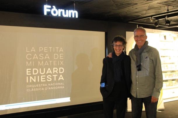 Eduard Iniesta i l'ONCA presenten 'La petita casa de mi mateix', un viatge per la Mediterrània Eduard Iniesta i l'ONCA presenten 'La petita casa de mi mateix', un viatge per la Mediterrània