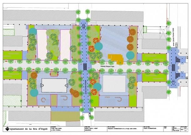 La reurbanització de la plaça Joan Sansa tindrà un cost de 380.000 euros