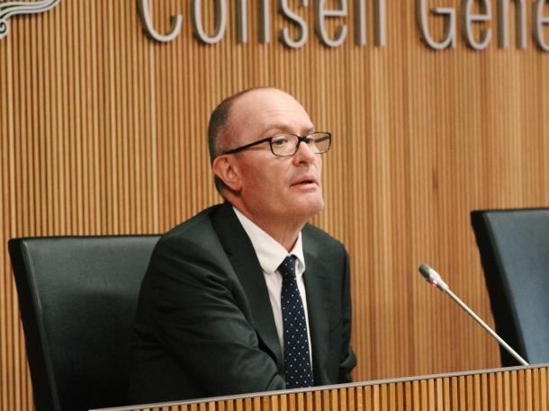 El conseller general socialdemòcrata Joaquim Miró.