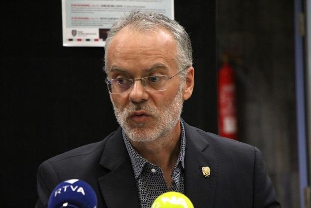 El conseller de Cultura, Josep Roig.