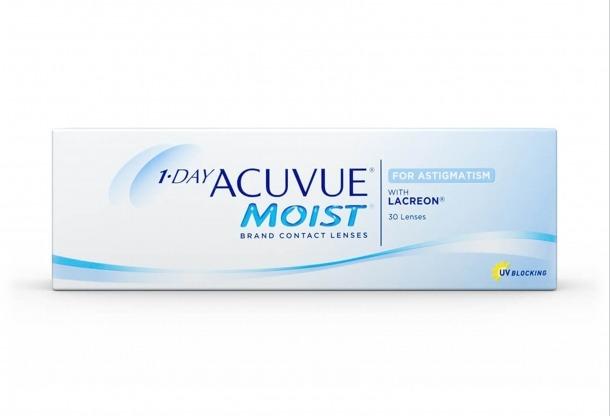 Lents de contacte 1-Day Acuvue Moist.