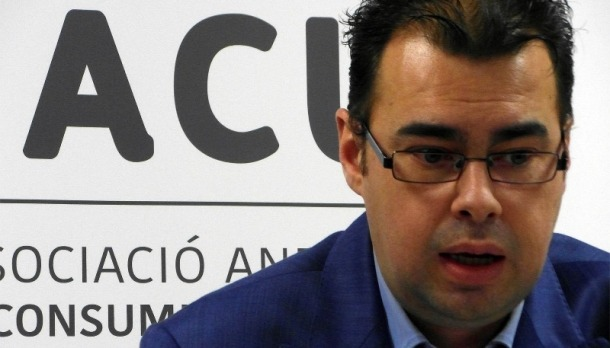 El president de l'ACU, Lluís Ferreira.