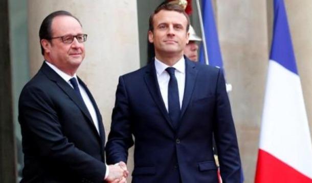 """Macron pren el relleu d'Hollande i apel·la a una """"França forta"""""""