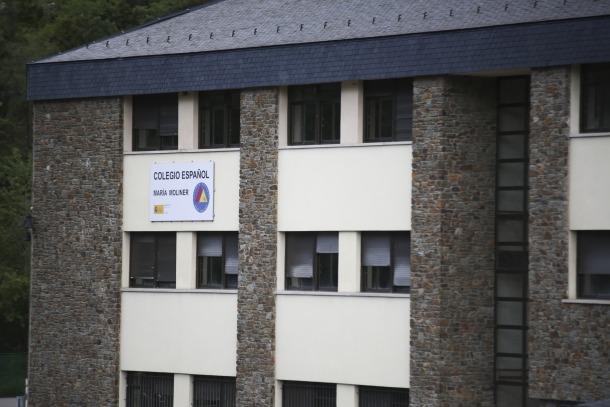 L'institut espanyol María Moliner de la Margineda.