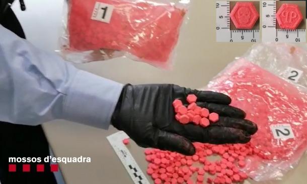 La droga localitzada pels mossos d'Esquadra.