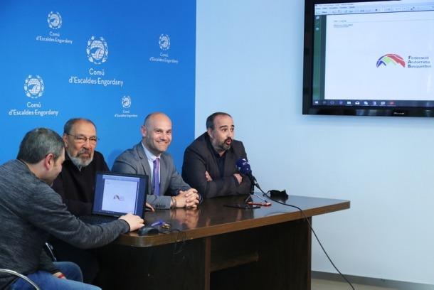 Manel Fernàndez deixa de ser president i Joaquim Tomàs agafa el relleu. Foto: Comú d'Escaldes