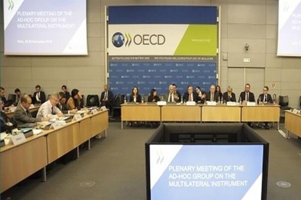 ANA/(ARXIU) Una reunió celebrada a la seu de l'OCDE.