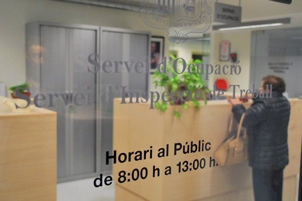 Departament del servei d'Ocupació.