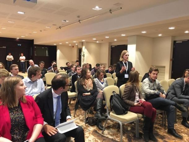 Joves Liberals d'Andorra participen al congrés de la LYMECJoves Liberals d'Andorra participen al congrés de la LYMEC