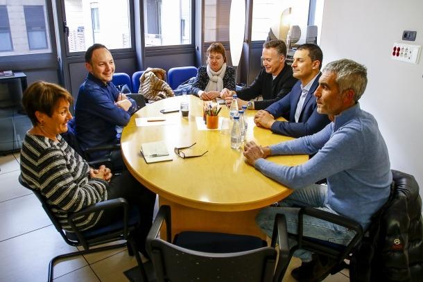 Un moment de la trobada de Demòcrates i Liberals d'Andorra.