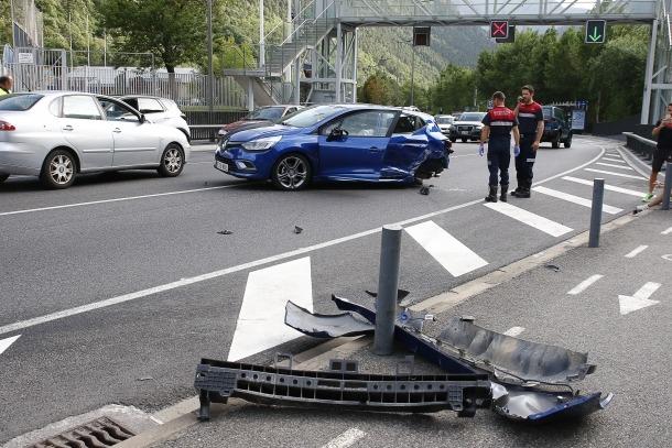 Un accident a la CG-1.