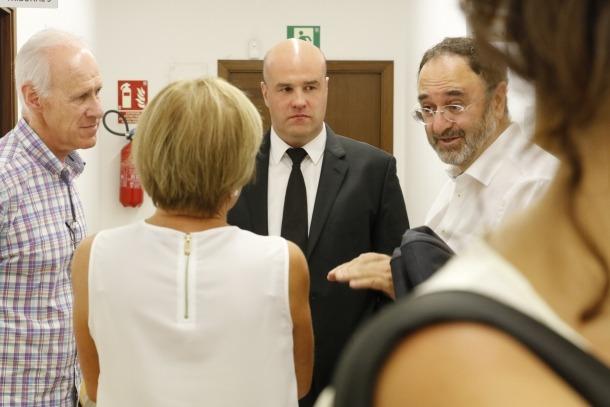 Marc Calvet, absolt dels delictes d'injúries i calúmnies a Ramon Canut