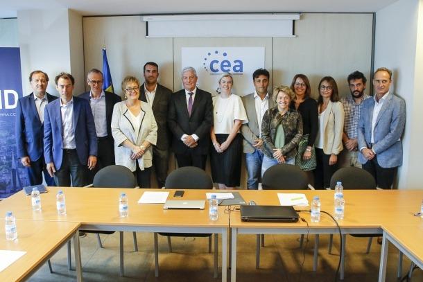 Gerard Cadena presideix la nova junta de la Confederació Empresarial Andorrana.