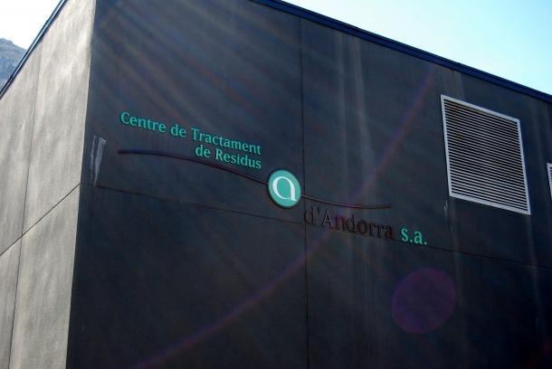 La planta de tractament de residus de la Comella.