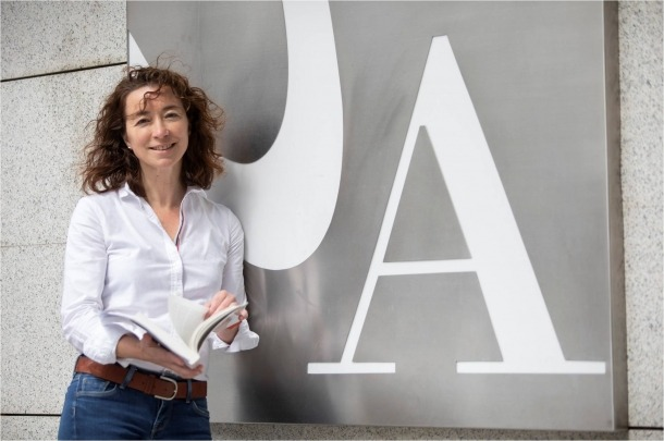 La doctoranda Cristina Fernández-Farina.