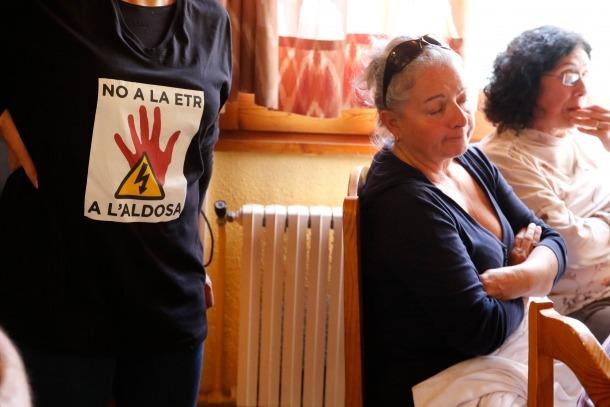Els veïns presenten un recurs contra el projecte de l'ETR a la Gonarda