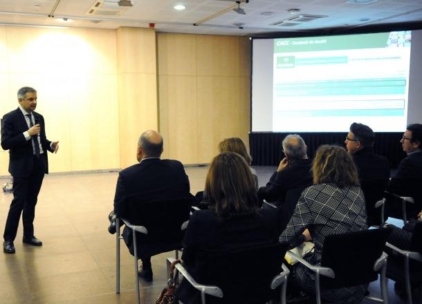 El plenari del Consell Andorrà per a la Competitivitat del Comerç es va reunir ahir al matí.