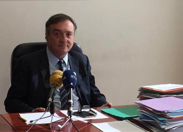 El Raonador del Ciutadà, Marc Vila, en la roda de premsa d'ahir.