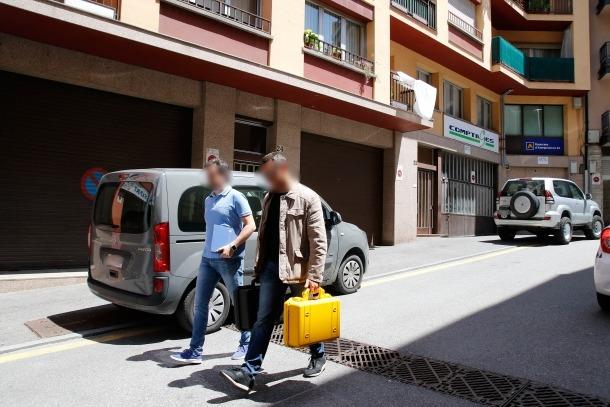 Detingut Joan Besolí en el cas contra Sandro Rosell per blanqueig de diner