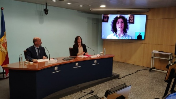 Joan Martínez Benazet, ha compargut amb les metgesses Cristina Royo i Mireia Garcia.