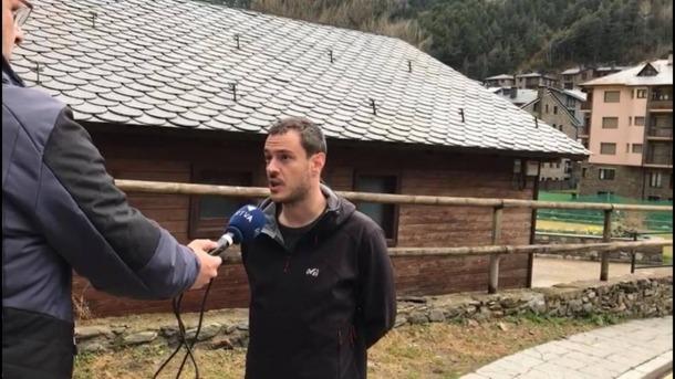 El candidat de d'Acord a Ordino, Marc Galabert.